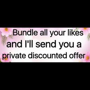 Discounts on bundles